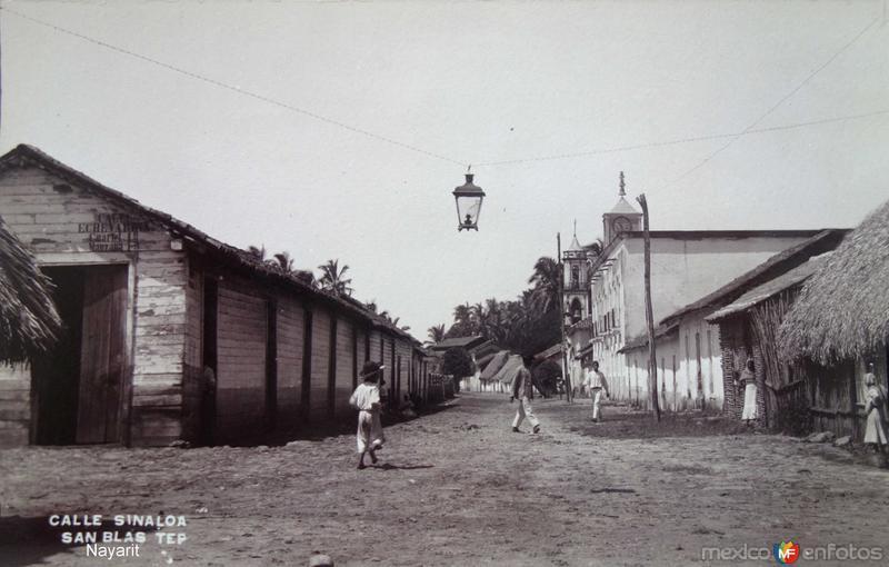 Calle Sinaloa.