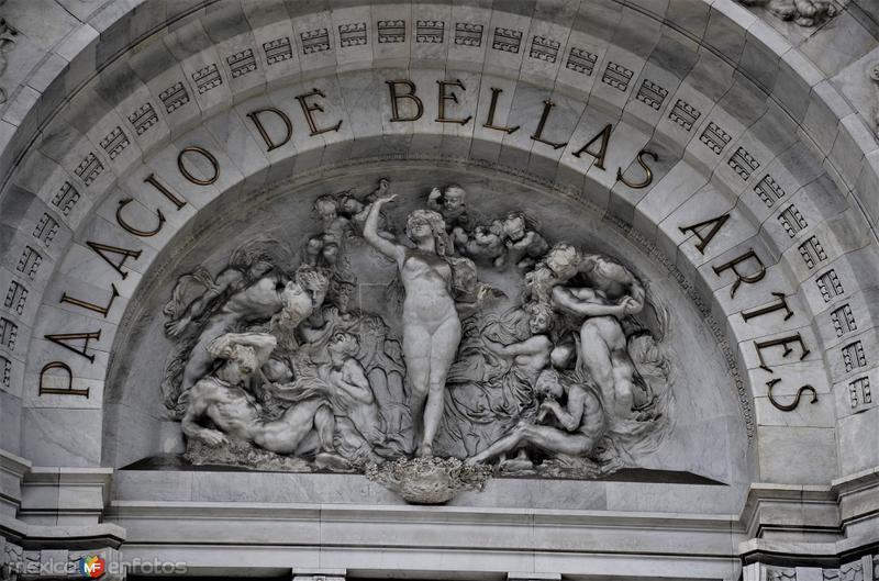 Detalle en el Palacio de Bellas Artes