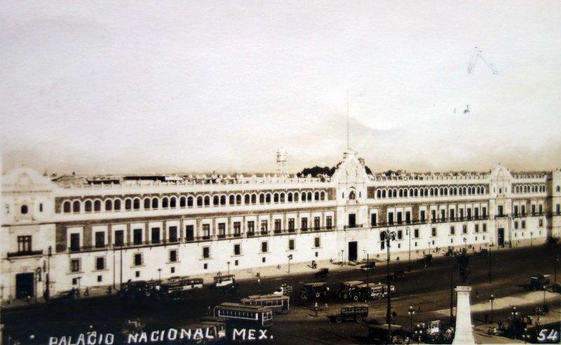 Palacio Nacional ( Circulada el 28 de Diciembre de 1930 ) .
