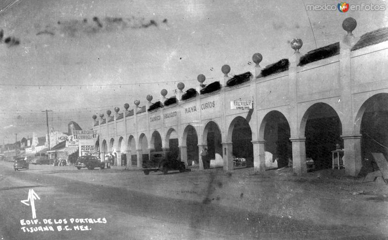 Edificio de los Portales