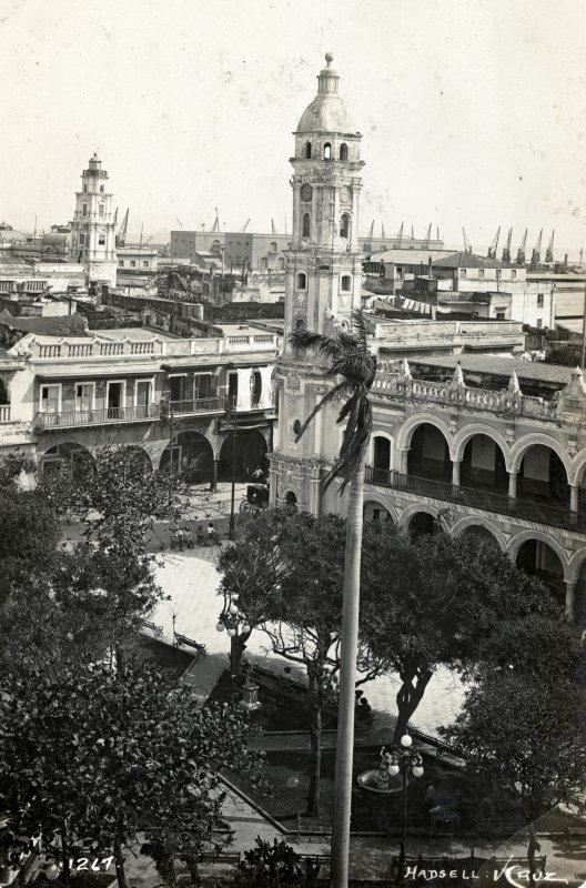 Vista desde la Plaza de Armas (1914)