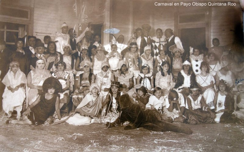 Carnaval en Payo Obispo Quintana Roo.