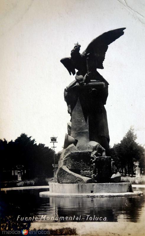 Fuente Monumental ( Circulada el 22 de Junio de 1922 ).