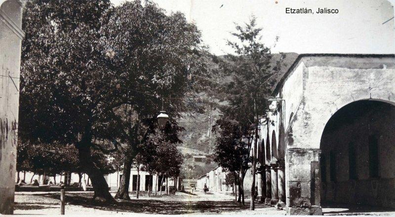 Avenida y los portales Etzatlán, Jalisco