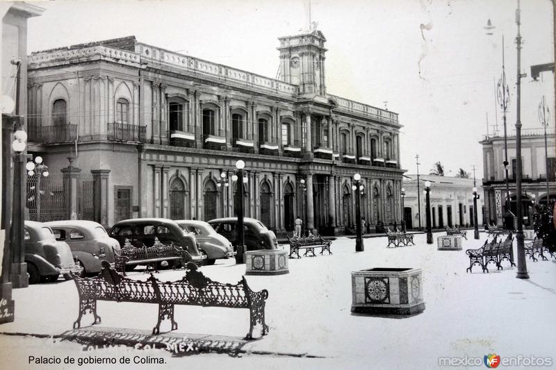 Palacio de gobierno de Colima.