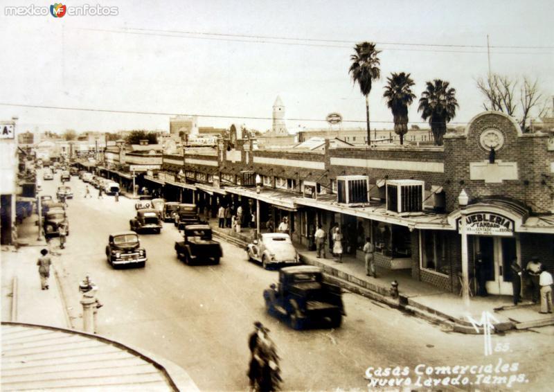 Casas comerciales.