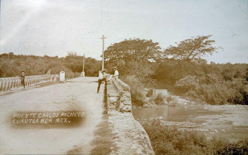 Puente Carlos Pacheco ( Circulada el 6 de Diciembre de 1908 ).