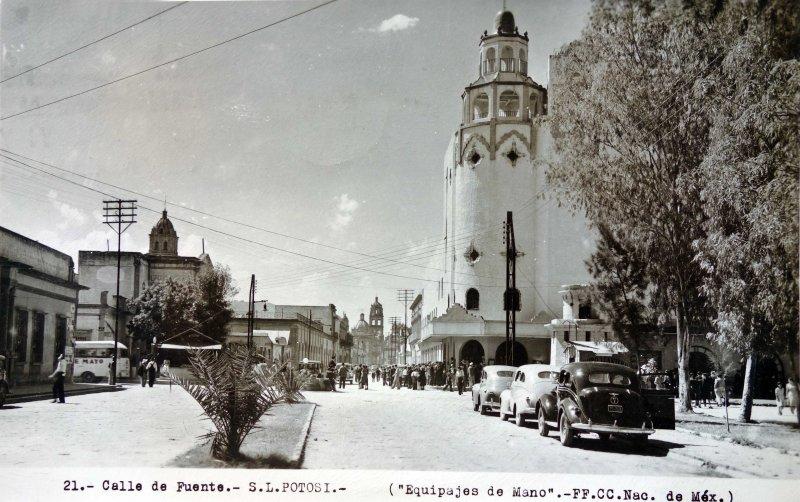 Calle de Fuente ( Circulada el 2 de Marzo de 1950 ).