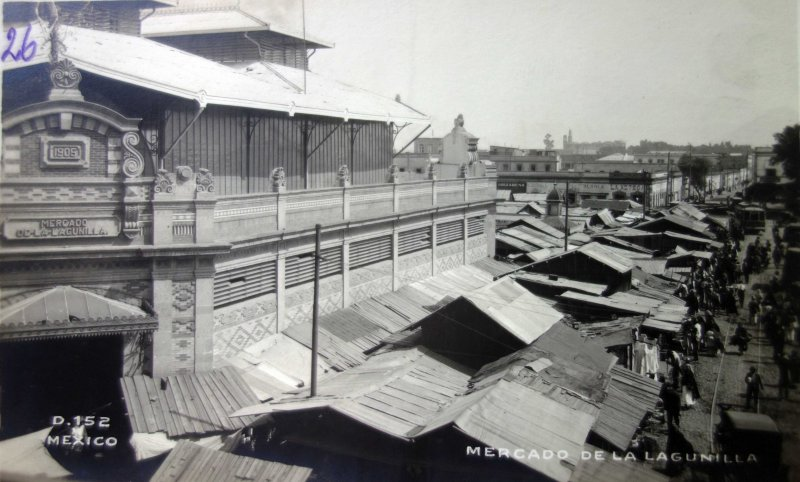 Mercado de La Lagunilla.