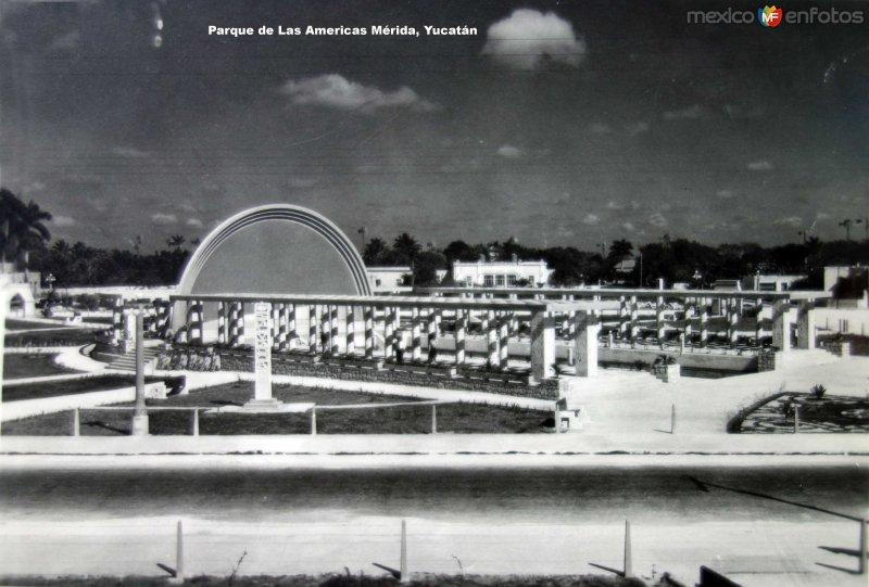 Parque de Las Americas Mérida, Yucatán.
