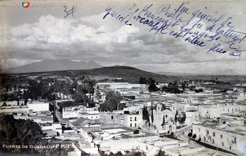 El fuerte de Guadalupe.
