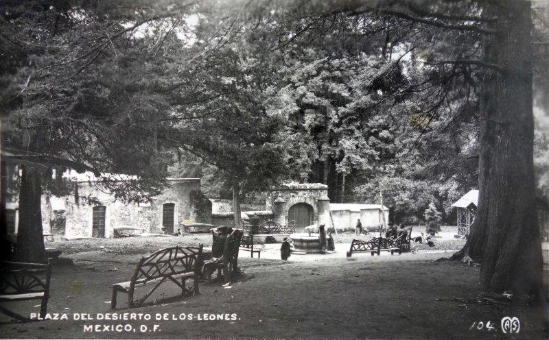Plaza de el Desierto de Los Leones.