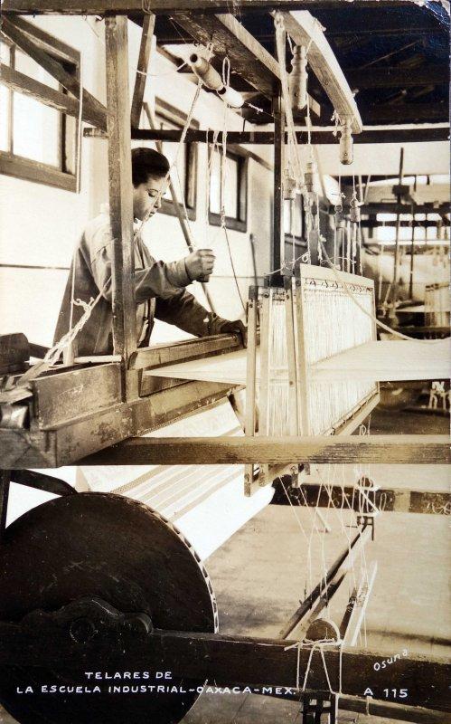 Talleres de la escuela industrial.