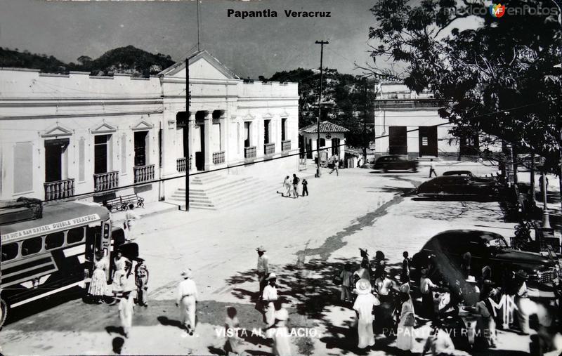 Vista al Palacio.