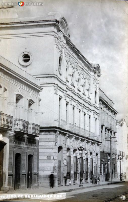 Teatro de Variedades.