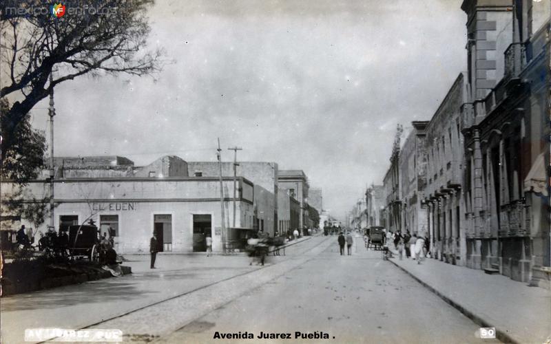 Avenida Juarez Puebla .