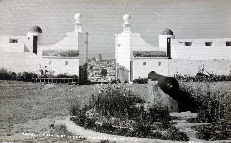 Fuerte de Loreto Puebla, Puebla.