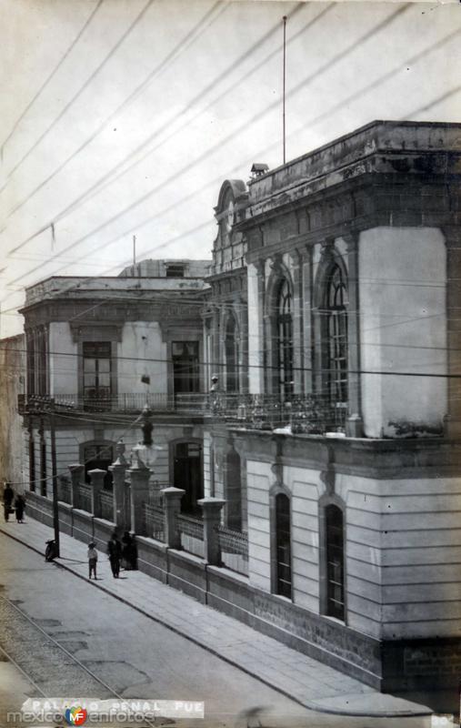 Palacio Penal Puebla, Puebla.