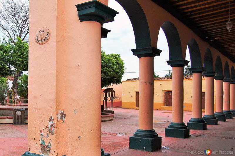 Portales del Museo de Mexcaltitán
