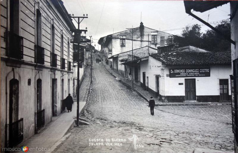 Cuesta de Alfaro Jalapa Veracruz.