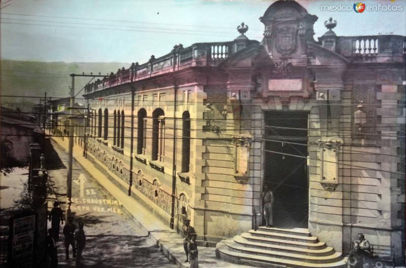 Escuela Industrial Jalapa Veracruz.
