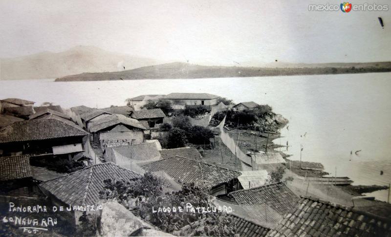 Panorama de Janitzio y El Lago de.