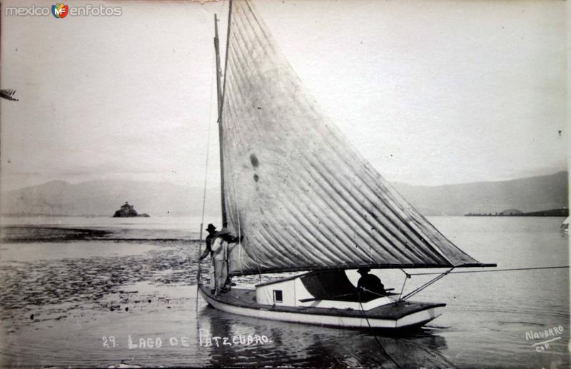El Lago de Pátzcuaro, Michoacán.