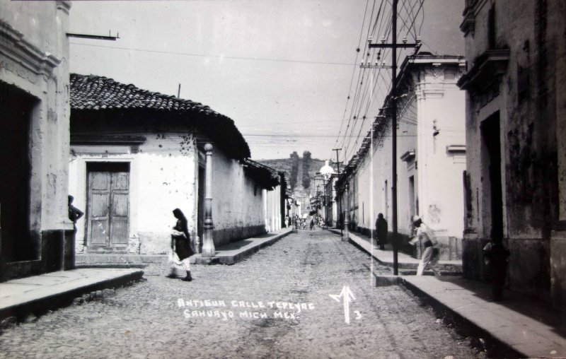 Antigua Calle Tepeyac.