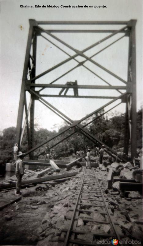 Construccion de un puente.