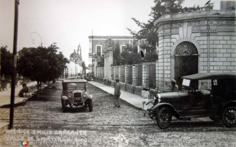 Avenida Emilio Carranza.