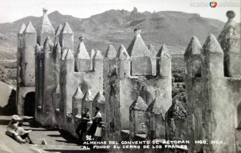 Almenas de el convento.