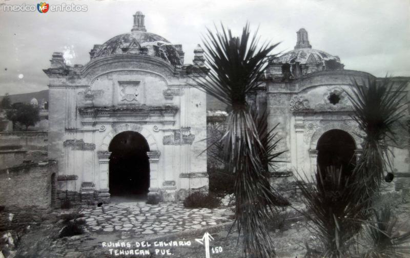 Ruinas del calvario.