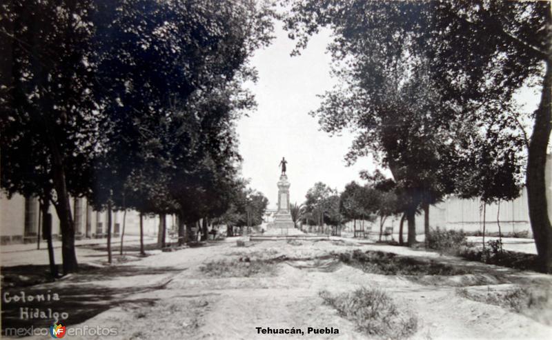 Colonia Hidalgo Tehuacán, Puebla ( Circulada el 20 de Junio de 1927 ),