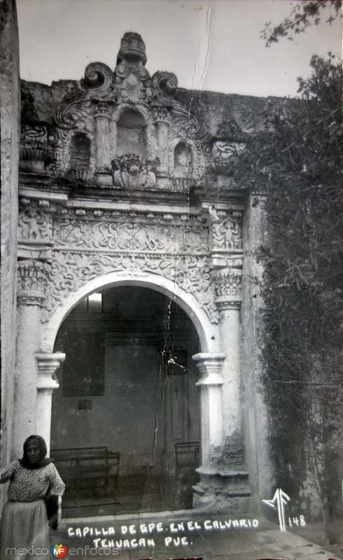 Capilla de Guadalupe en el Calvario.