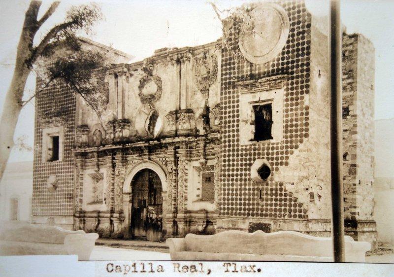 Capilla Real Tlaxcala .