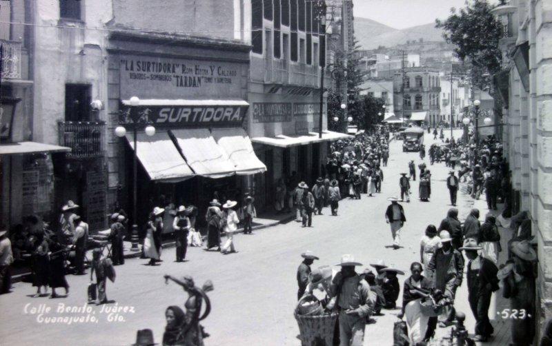 Calle Benito Juarez.