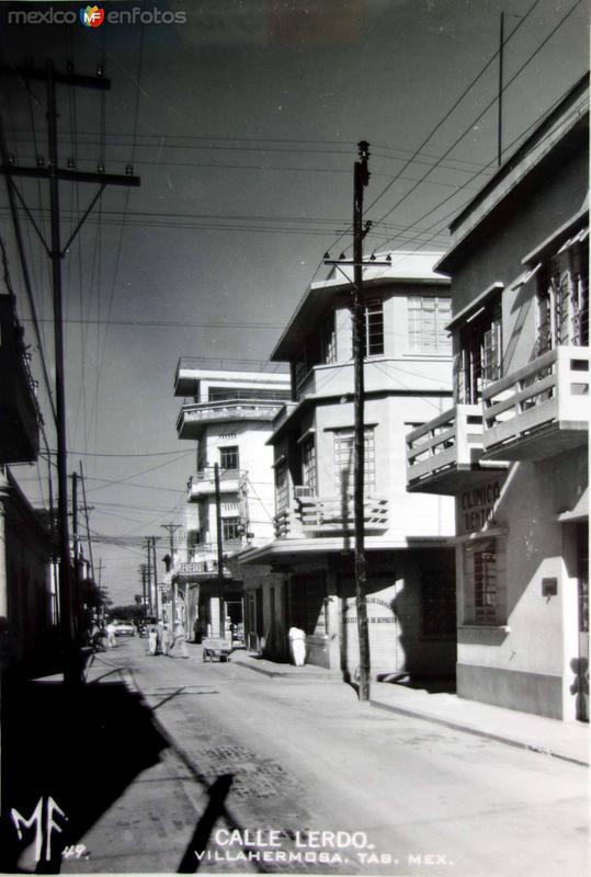 Calle Lerdo.