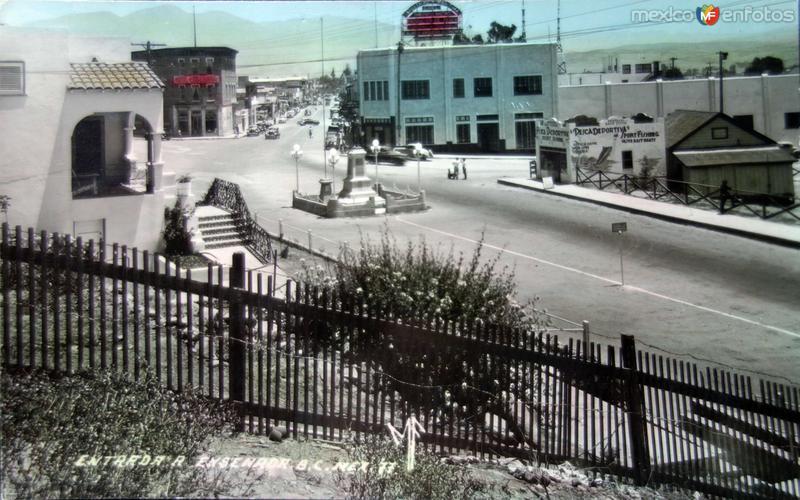 Entrada ( Circulada el 29 de Abril de 1948 ).