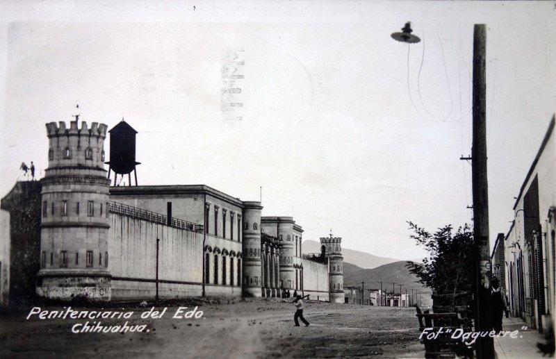Penitenciaria del Edo. de Chihuahua ( Circulada el 23 de Marzo de 1930 ).