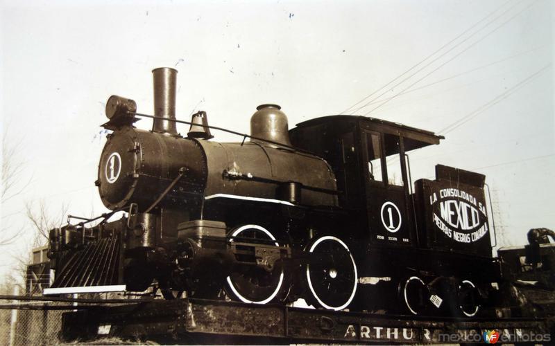 Locomotora de La Compania Consolidada S.A.