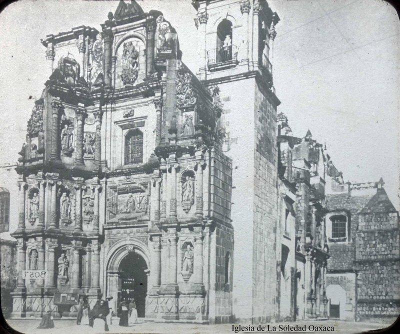 Iglesia de La Soledad Oaxaca .