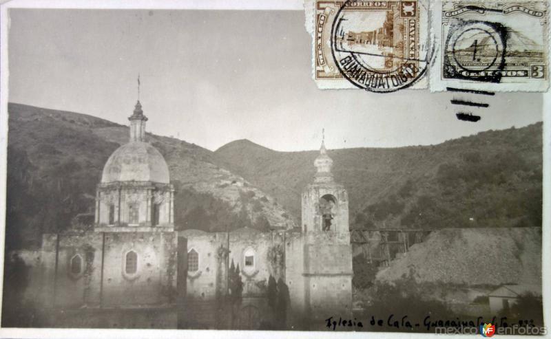 La Iglesia de Cata ( Circulada el 4 de Marzo de 1932 ).