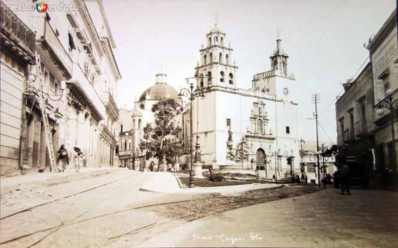 Plaza Mayor Guanajuato ( Circulada el 9 de Febreroo de 1926 ).