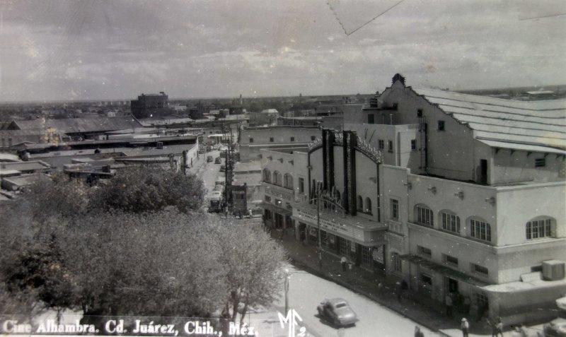 Cine Alahambra.