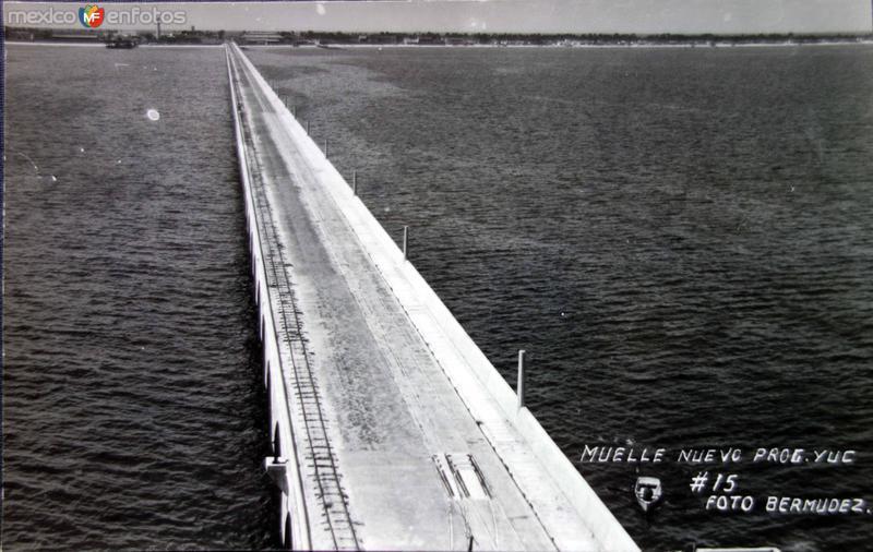 Muelle nuevo Progreso.
