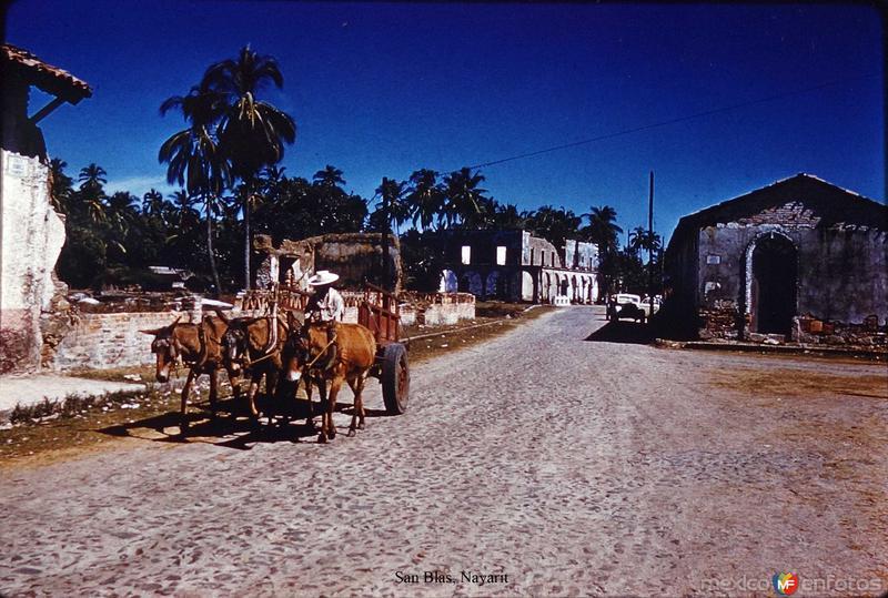 Tipos Mexicanos un carretero de San Blas, Nayarit.