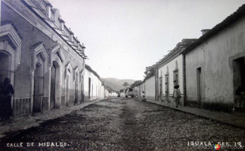 Calle de Hidalgo.