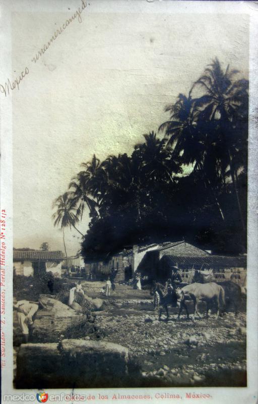 Calle de Los Almacenes ( Circulada 20 de Septiembre de 1906 )