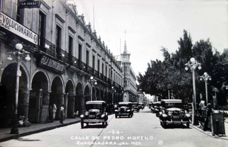 Calle Pedro Moreno.