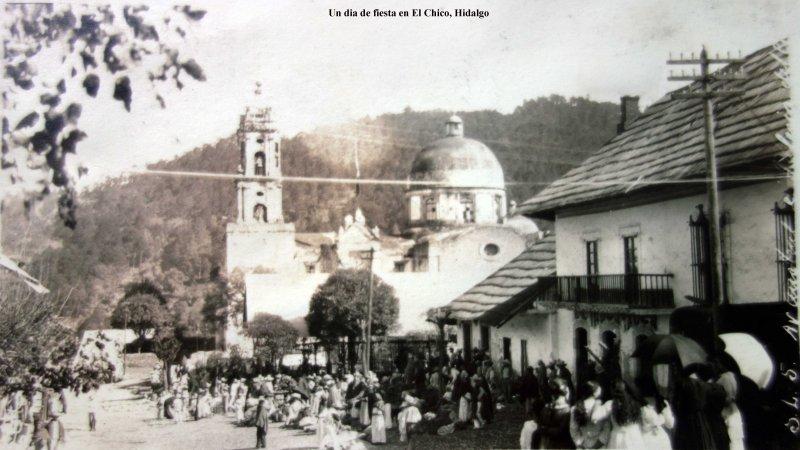 Un dia de fiesta en El Chico, Hidalgo
